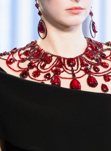 Badgley Mischka Fall 2018 Fashion Show Details