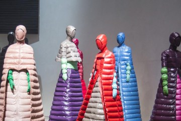 Moncler unveiled eight projects by its 'Geniuses' to kick off Milan Fashion Week