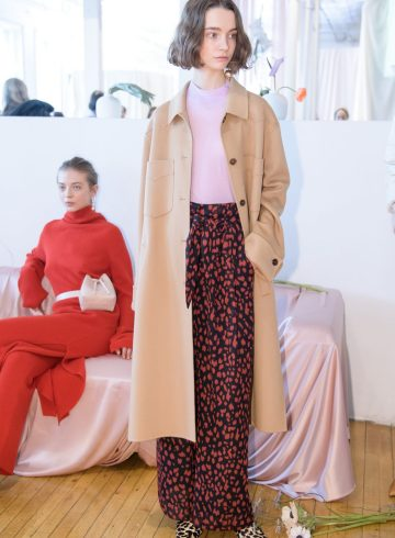 Nanushka Fall 2018 Fashion Show