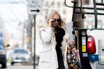 New York Fashion Week Street Style Fall 2018 Day 7