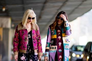 New York Fashion Week Street Style Fall 2018 Day 6