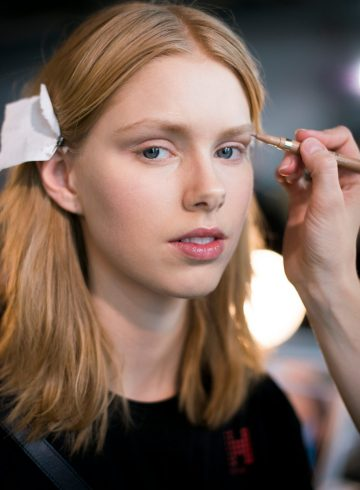 Tibi Fall 2018 Fashion Show Backstage Beauty