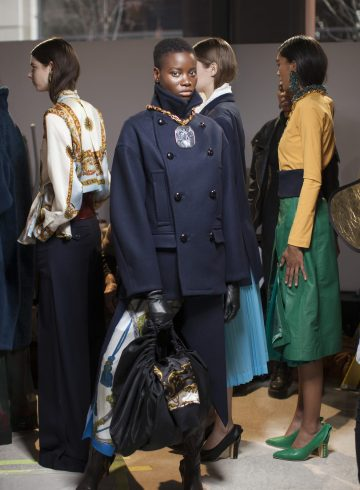 Toga Fall 2018 Fashion Show Backstage