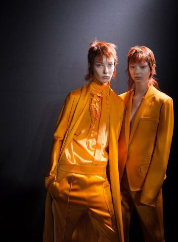 Haider Ackermann Fall 2018 Fashion Show Backstage