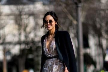 Paris Fashion Week Street Style Fall 2018 Day 8