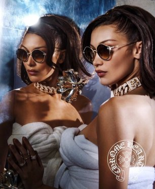 Chrome Hearts Bella Hadid Campaign