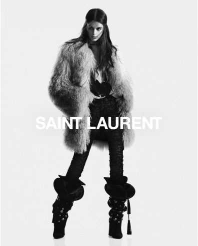 Kaia-Gerber-Saint-Laurent-Fall-2018-Campaign-the-impression-5