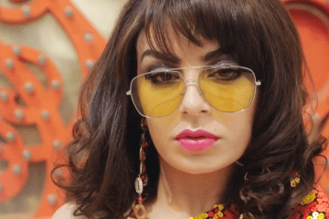 Marc Jacob Spring 2018 Eyewear with Charli XCX
