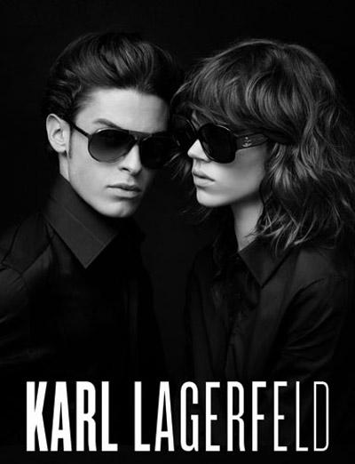 Ad - Karl Lagerfeld Eyewear SS10-2