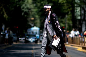 Milan Men's Street Style Day 2 Spring 2019