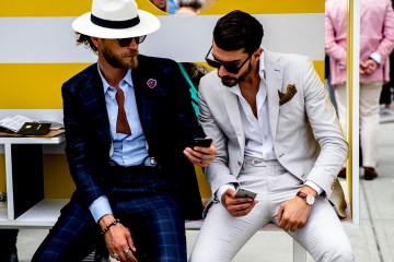 Firenze Pitti Uomo Fashion Week Men's Street Style Spring 2019 Day 2