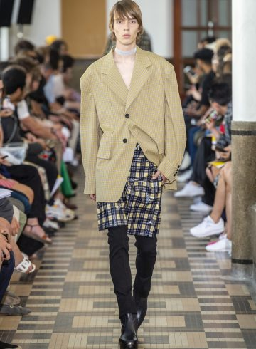 Wooyoungmi Spring 2019 Men's Fashion Show