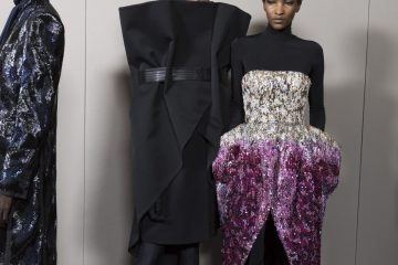Givenchy Fall 2018 Couture Fashion Show Backstage