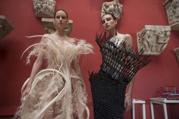 Guo Pei Fall 2018 Couture Fashion Show Backstage