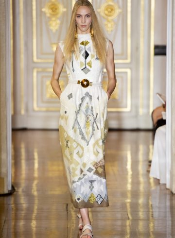 Christophe Josse Fall 2018 Couture Fashion Show