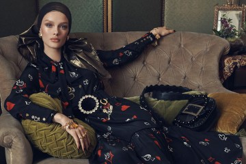 Zara Women's Fall 2018 Ad Campaign by Steven Meisel
