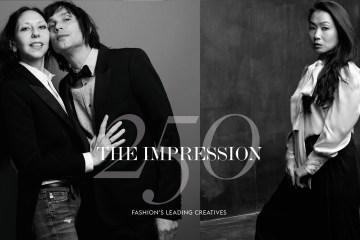 The Impression 250 Magazine celebrating the Top 250 Fashion Creatives today
