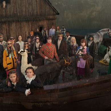 Gucci Cruise 2019 Ad Campaign is a Surreal Noah's Ark