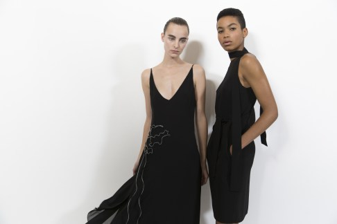Akris Spring 2019 Fashion Show Backstage