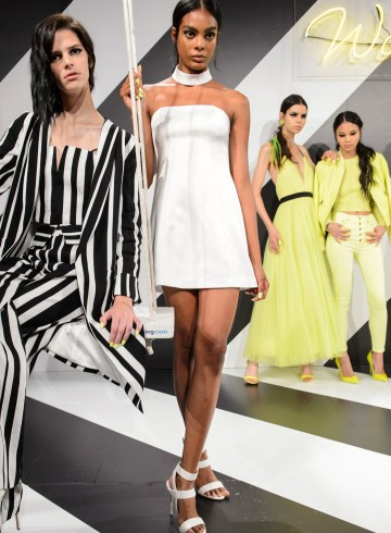 Alice + Olivia By Stacey Bendet Spring 2019  Fashion Show Atmosphere