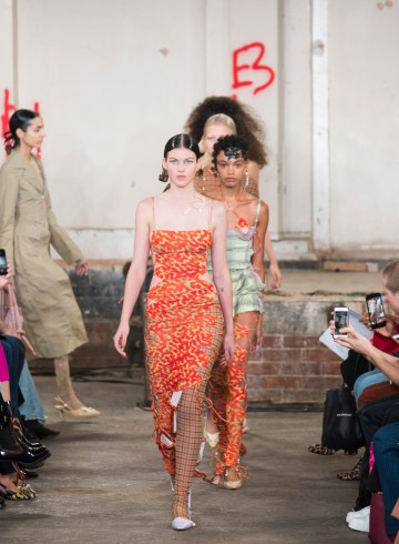 Fashion East Spring 2019 Fashion Show