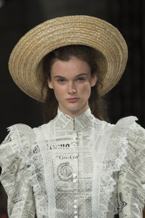 John Galliano Spring 2019 Fashion Show Details