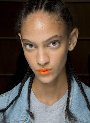 Fyodor Golan Spring 2019 Fashion Show Backstage Beauty