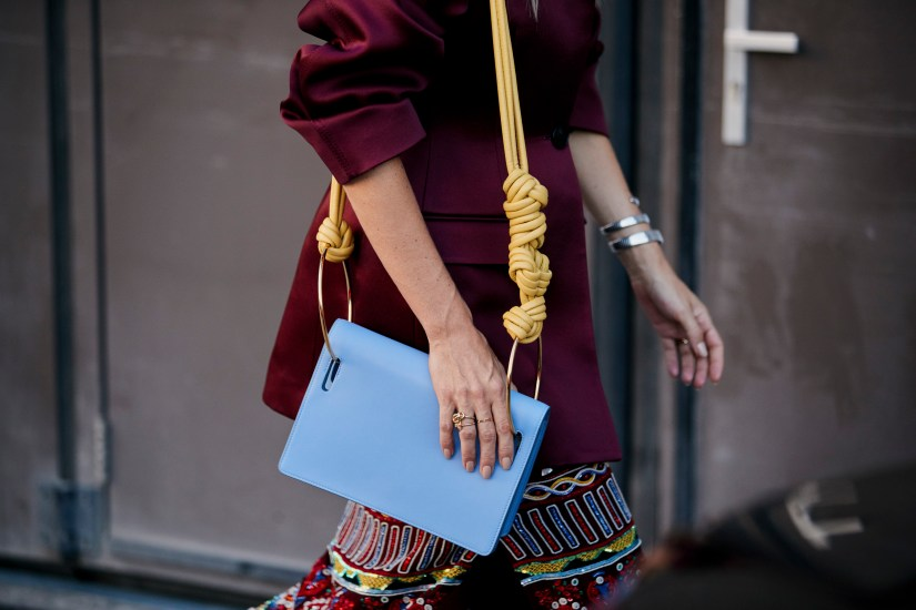 London Fashion Week Street Style Accessories Spring 2019 Day 4