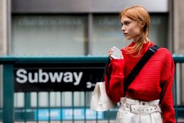New York Fashion Week Street Style Spring 2019 Day 5