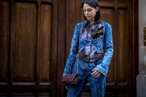 Paris Fashion Week Street Style Spring 2019 Day 2