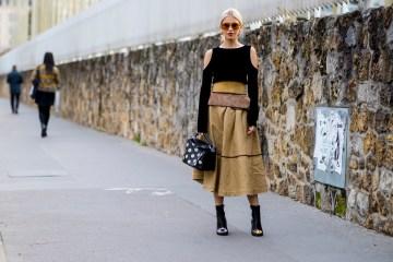Paris Fashion Week Street Style Spring 2019 Day 5