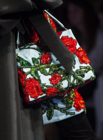 Richard Quinn Spring 2019 Fashion Show Details
