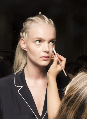 Christian Siriano Spring 2019 Fashion Show Backstage Beauty
