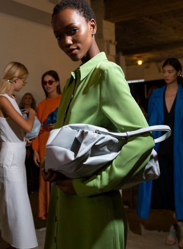 Tibi Spring 2019 Fashion Show Backstage
