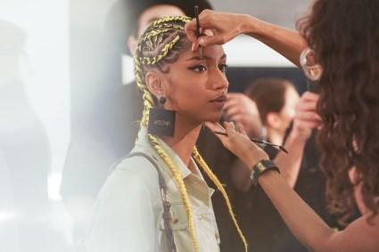MOSCHINO [tv] H&M Holiday 2018 Fashion Show-backstage-the-impression-007