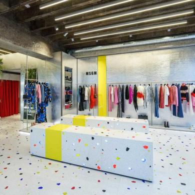 MSGM Opens First London Store