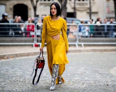 Paris Fashion Week Street Style Spring 2019 Day 9