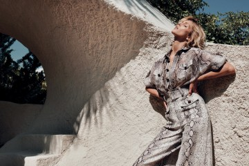 Zimmermann 2019 Resort Campaign with Anja Rubik
