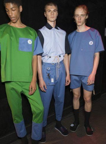 22/4 Hommes Spring 2018 Men's Fashion Show Backstage