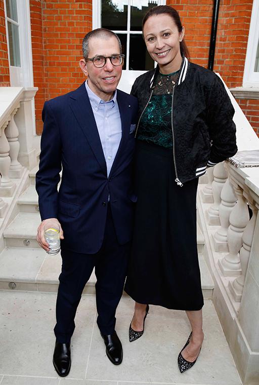 Jonathan Newhouse and Caroline Rush