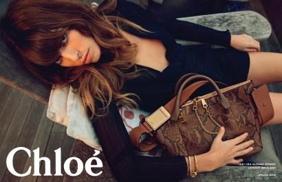 Chloe SS 2014 Lou Doillon