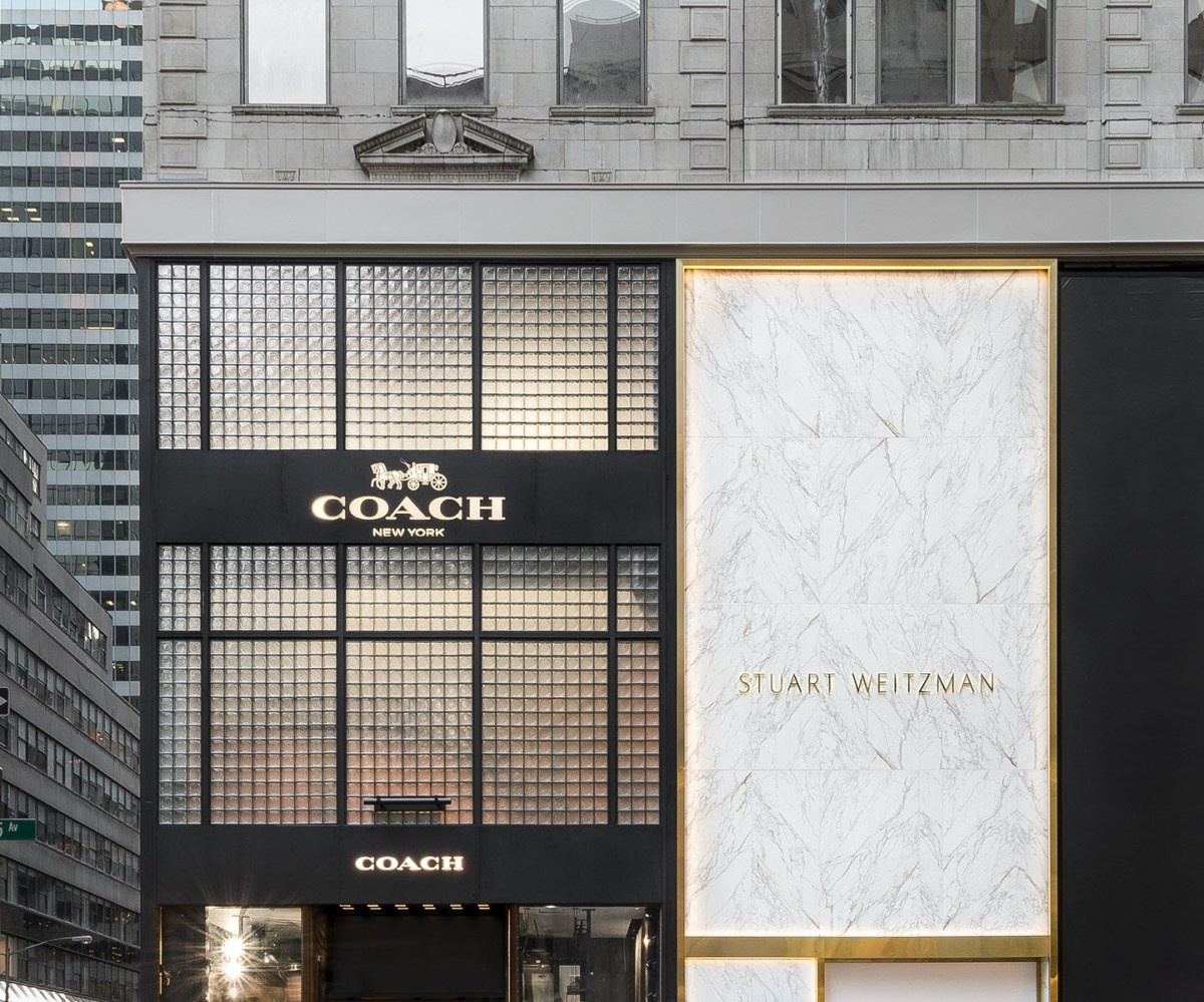 Coach new concept store nyc store scout the impression for Leather house victor ny