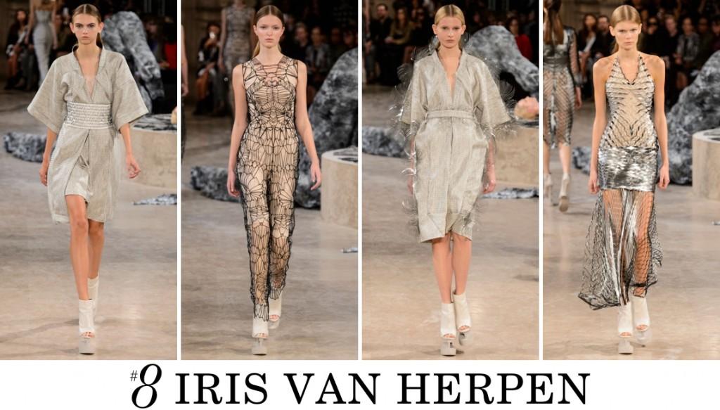 Iris van Herpen Top 10 spring 2016 fashion show photo
