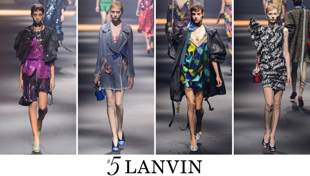 Lanvin Spring 2016 Fashion Show Top 10 Photo