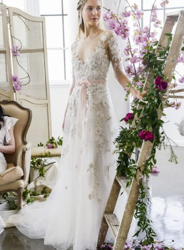 Marchesa Notte Spring 2018 Bridal Fashion Show