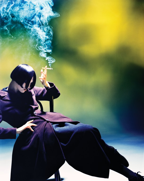 Susie Smoking, Yohji Yamamoto, 1988