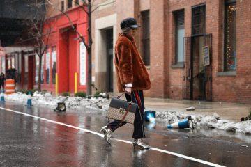 New York Fashion Week Street Style Day 4 Fall 2017 by Myoungsoo Lee