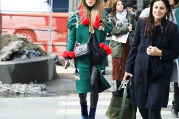 New York Fashion Week Street Style Day 7 Fall 2017 by Myoungsoo Lee