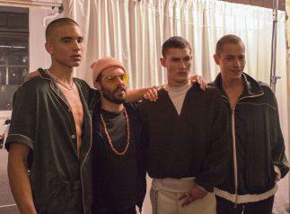Palmiers du Mal Fall 2017 Menswear Fashion Show Backstage