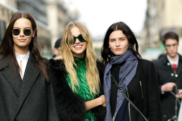 Paris fashion Week Street Style October 2015 photo